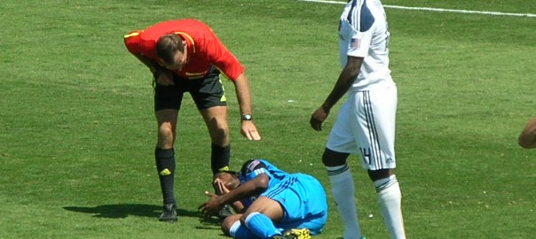 sports injury chiropractor at Galaxy at Earthquakes