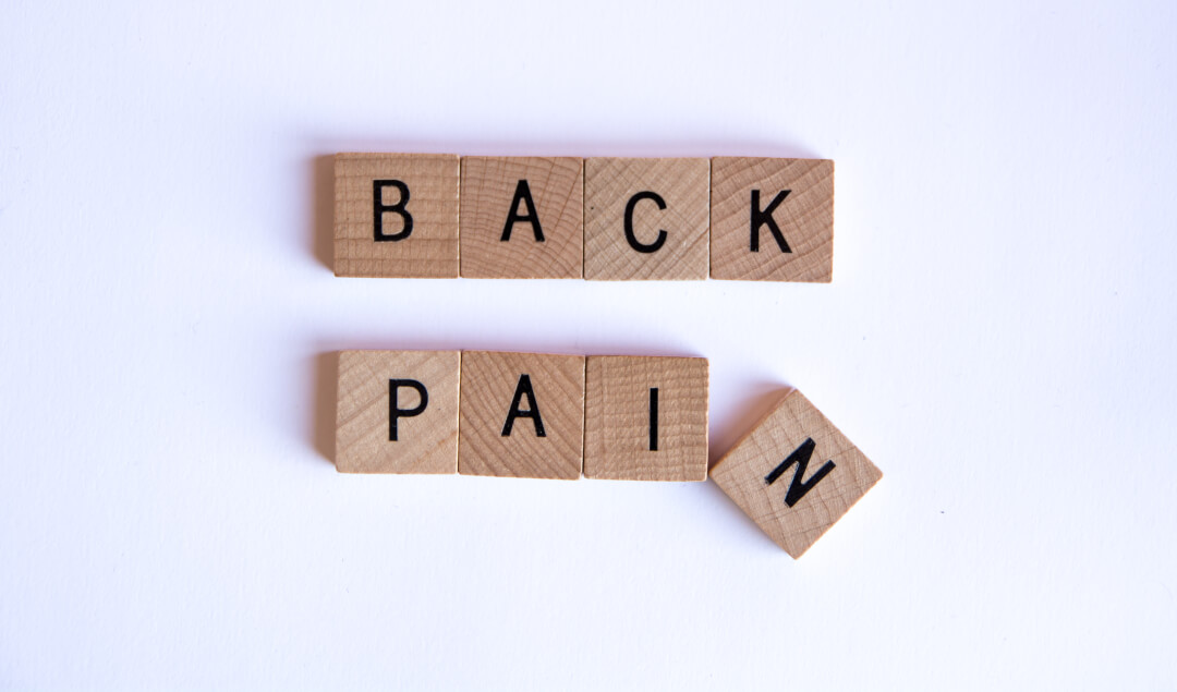 What to do if work is causing you back pain
